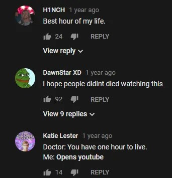 YouTube Comment Doctor Live
