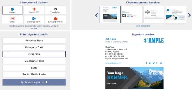 Crea una firma e-mail personalizzabile e gratuita con le firme di posta