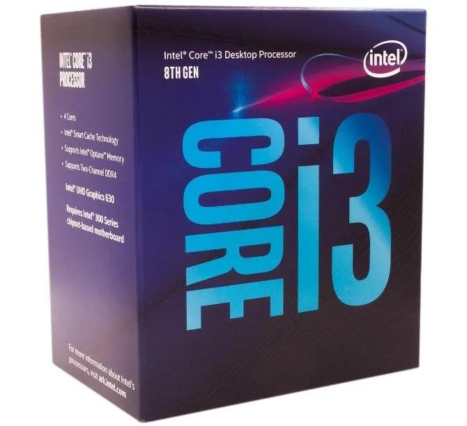 Intel Core i3 8100 esegue il miglior PC di gioco con meno di $ 500