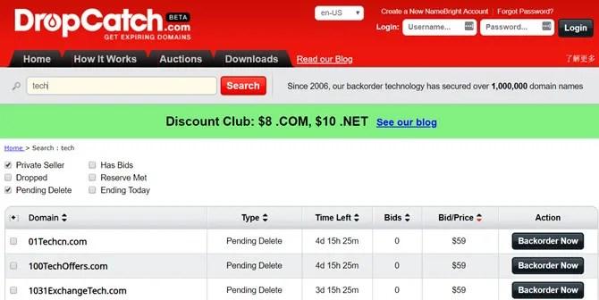 Come individuare e acquistare domini scaduti al prezzo più conveniente