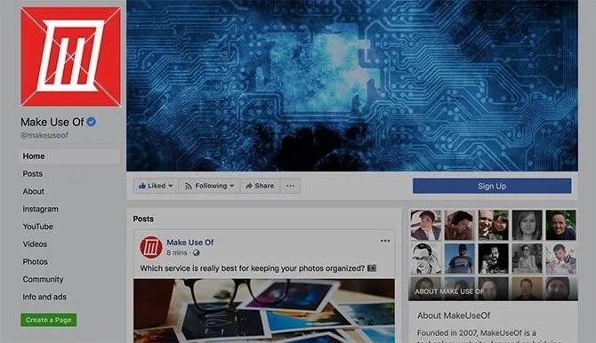 Dimensione foto profilo Facebook