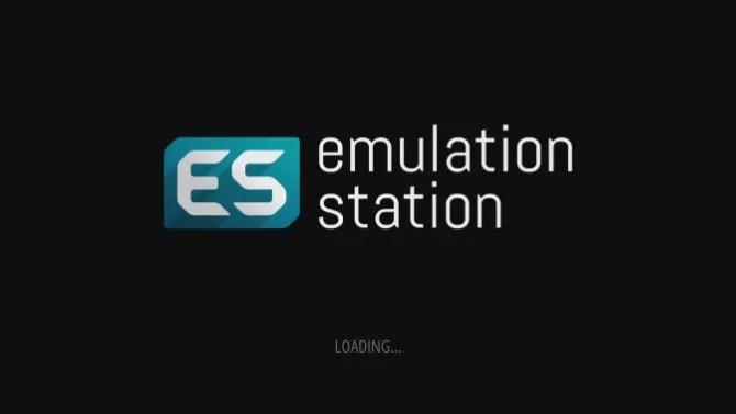 EmulationStation carica l'immagine per RetroPie