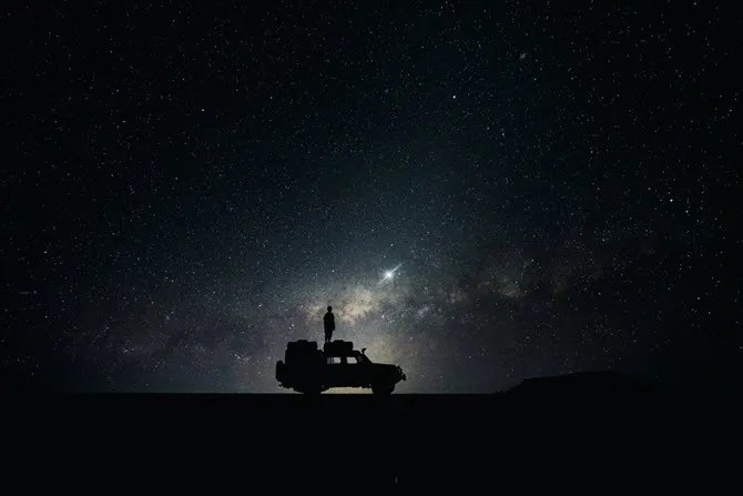 Observing Space Desktop Wallpaper
