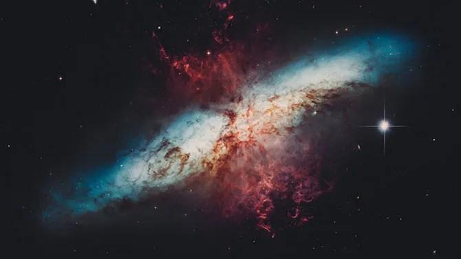 Deep Space Starburst