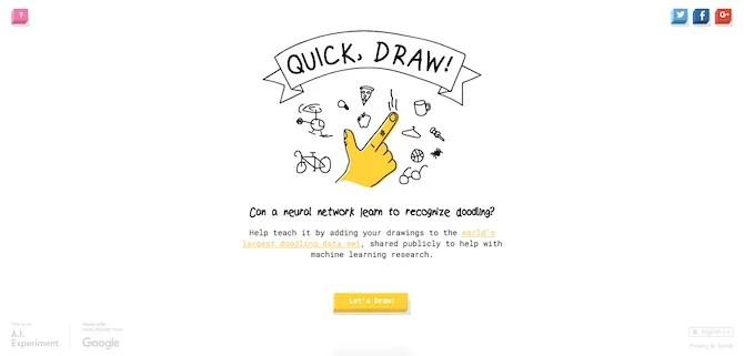 Google QuickDraw Demo