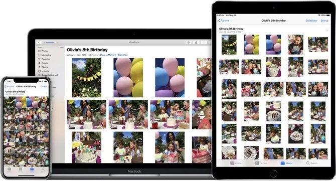 Foto iCloud su tutti i dispositivi Apple