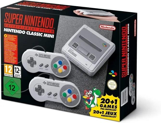 Console di gioco Nintendo SNES Classic