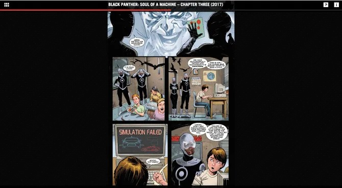 Black Panther free marvel comic book reader