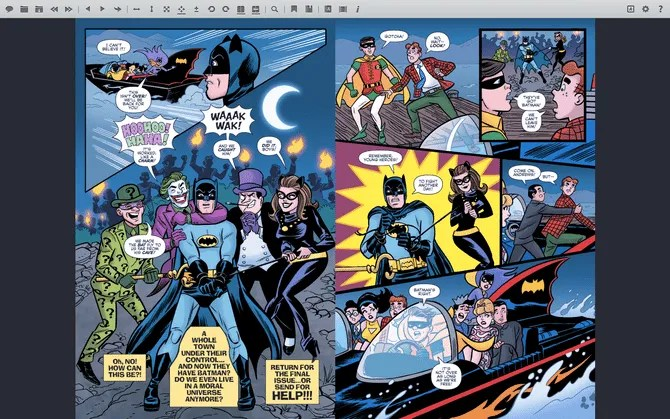 YACReader Mac Comic Book Reader