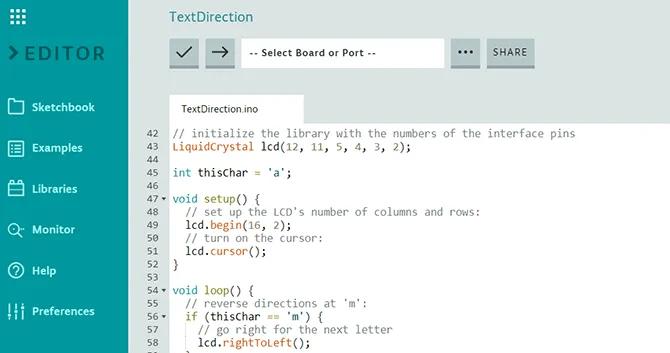 Arduino Create Web IDE
