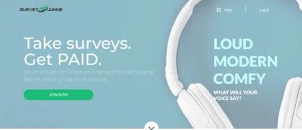 Survey Junkie Paid Online Survey Website