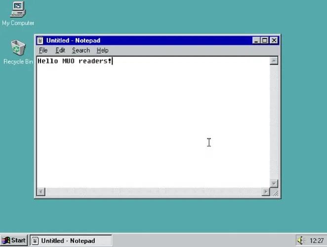 windows 95 demo