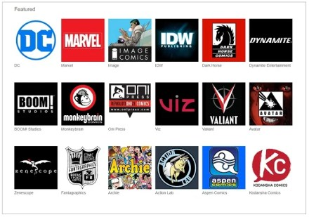 read digital comics online Unlimited publishers
