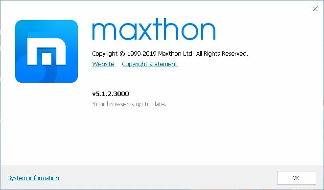 Maxthon Windows XP