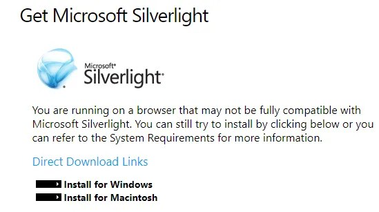 Silverlight Deprecated - The Internet Tips