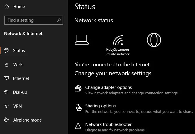Windows 10 Network Troubleshooter - The Internet Tips