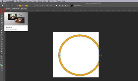 How to Make Virtual Photo Frame Photoshop Draw Shape