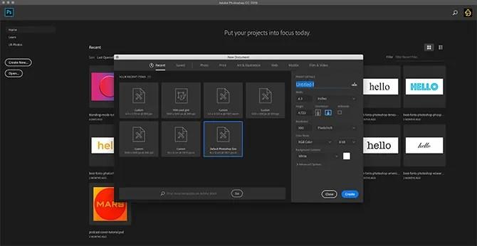 How to Use Custom Shape Tool Photoshop Open New File