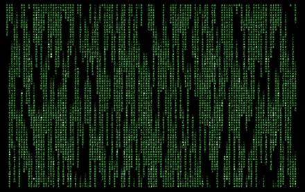 Matrix screen saver