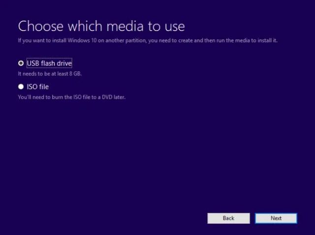 Make a bootable Windows 10 USB drive