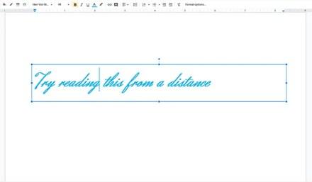Never Make Design Mistakes in Slideshow Cursive Script