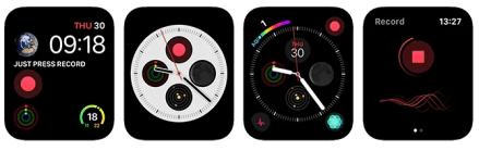 Apple Watch Complications Just Press Record App
