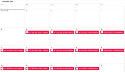 Worst Time of the Year to Job Hunt December Schedule