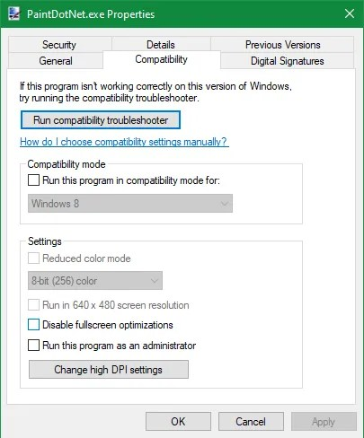 Windows Always Run As Admin