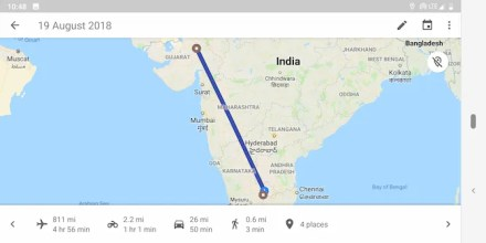 See where you've been on Google Maps