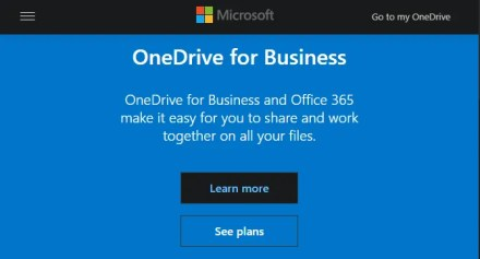 OneDrive for Business Home