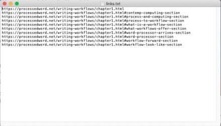 add links through link klipper extension
