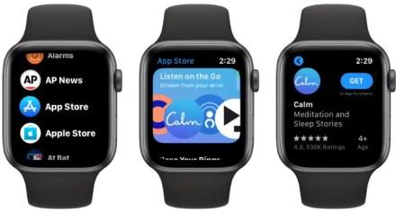 App Store watchOS 6
