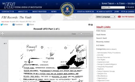The FBI Vault and CIA's Reading Room have all files declassified through freedom of information act requests