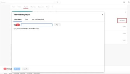 Add Videos to Your YouTube Video Playlist