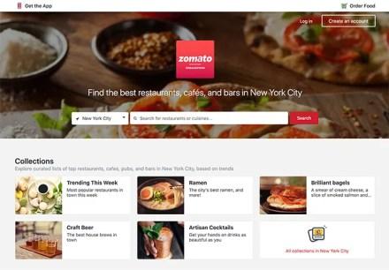 Restaurant Finding App Zomato