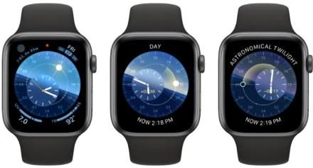 Solar Dial watchOS 6