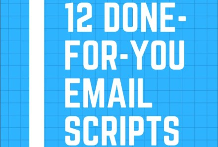 Zak Slayback's free ebook teaches you 12 email scripts for common work situations