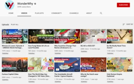 WonderWhy creates animated video explainers on geography and history