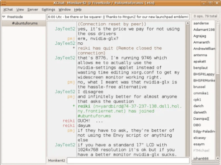 IRC Chat Example