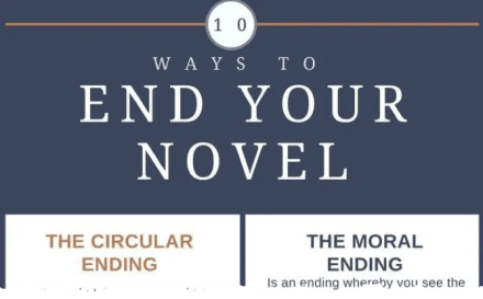 10 Ways to End Your Novel