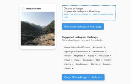 Instaloadgram is an Instagram tools to download posts, generate hashtags with AI, and export data