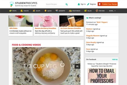 Student Recipes Best Food for Parties