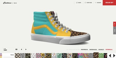 Design Custom Van Shoes