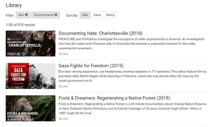 films for action free documentaries