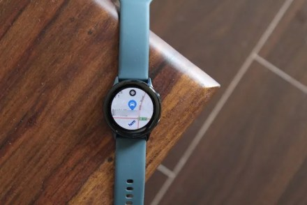 log parking location with Galaxy watch