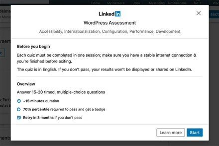 How to Start a Skill Quiz for LinkedIn Skill Assessments