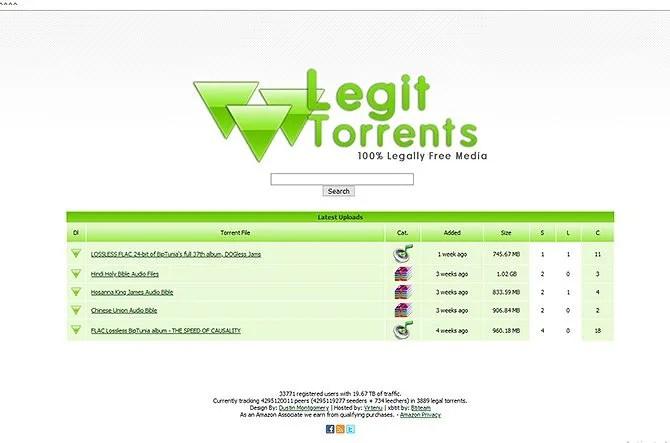 legal torrents - legit torrents
