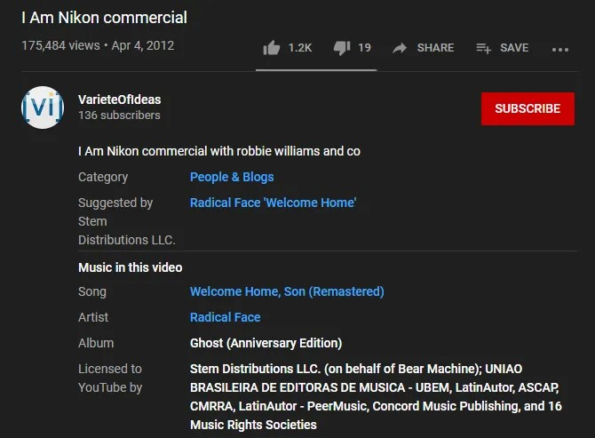 YouTube Music in This Video