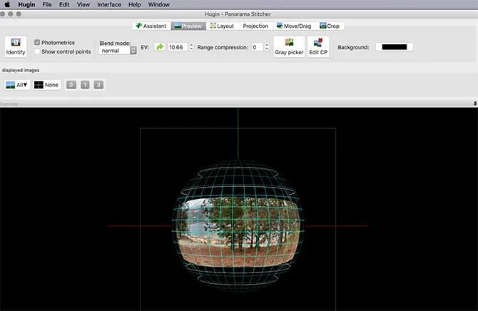 Hugin Stitch Photos Together Panorama