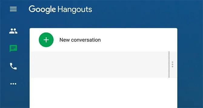Старый чат Google Hangouts